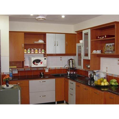 PVC Modular Kitchens Manufacturer From