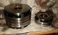 EK 40 Electromagnetic Multidisc Double Clutch
