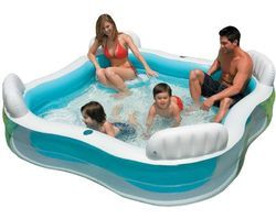 Inflatable Swimming Pool with Seats