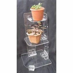 Acrylic Corner Table