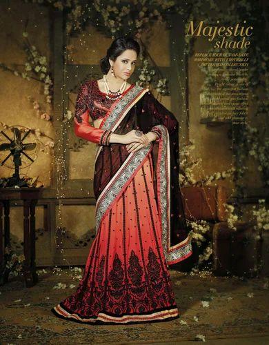 Party Wear Indian Lehenga Designer Sarees