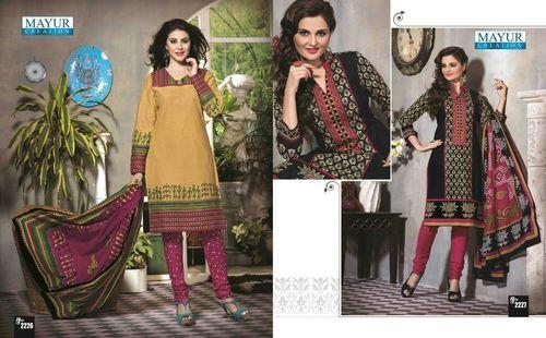 3c679a2dc2 Plain Multicolor Cotton Dress Material, Rs 330 /unit, Maa Narayani ...