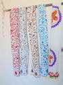 Suzani Embroidered Stole
