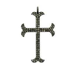 Diamond Pave Cross Pendant