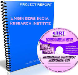 Project Report of DRY MIX MORTAR (DMM)  (DRY MIX PLANT WILL CONSTITUTE OF FOLLOWING ITEMS: READY MIX