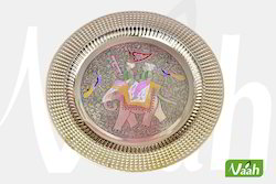 Vaah Brass Wall Decor Plates