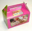Customised Printed cake Carton box With Handle