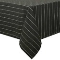 Black Cotton Stylish Table Cover, Size: Nominal