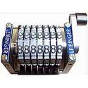 Straight Rotary Number Machine