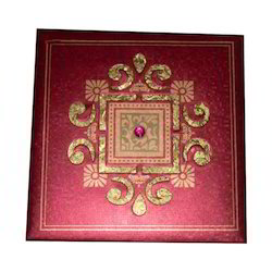 Maroon Dry Fruits Box