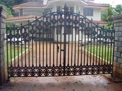 Cast Iron Grill Gates