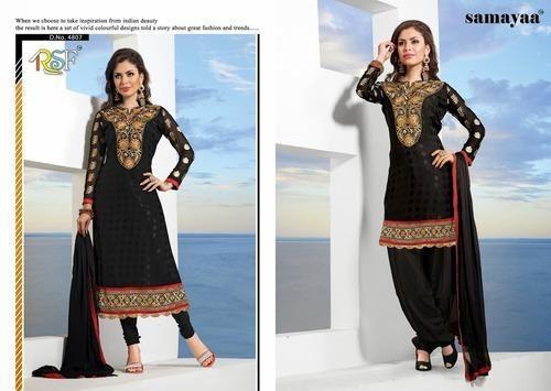 d04c399c73 Black Ladies Suits at Rs 455 /piece(s)   Designer Suits For Women ...