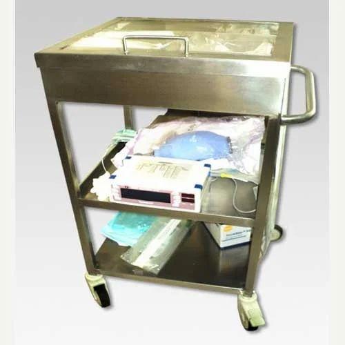 S S  Intubation Trolley, Carts, Dollies & Trolleys | Pharma