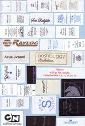 Seal Printing Label