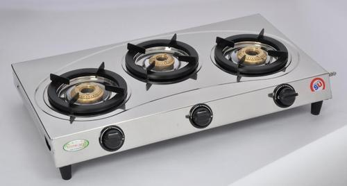 ef485a276 Three Burner Gas Stove - Stainless Steel 3 Burner Gas Stove ARROW SU-3B-302  Manufacturer from New Delhi