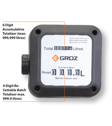Mechanical Oval Gear Fuel Meter