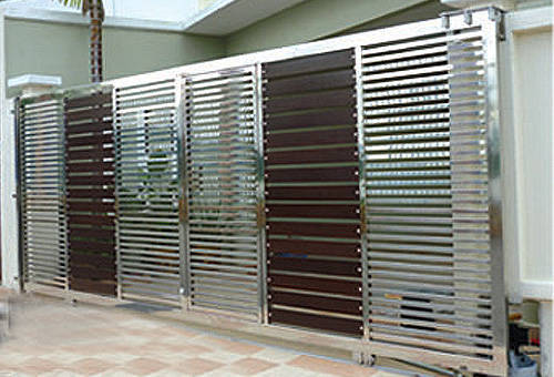 Designer Steel Gate Steel Gates Bharat Fibre Amp Steel