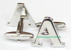 Alphabet Cufflink