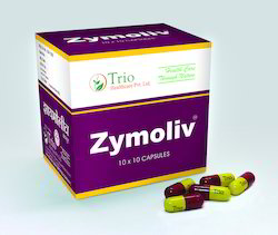 Herbal Digestive Supplements - Zymoliv Capsules