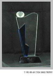 21 cm Crystal Trophies