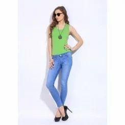 Sky Blue Ladies Jeans