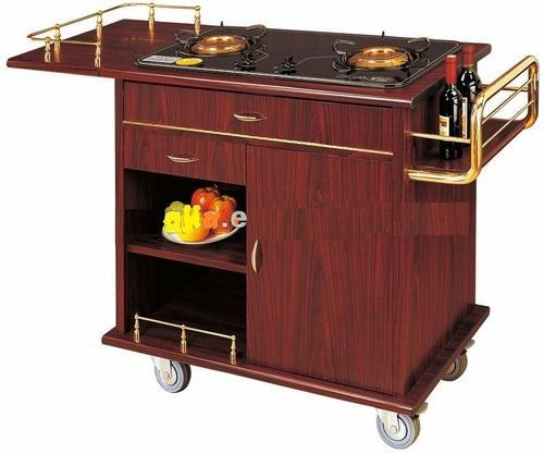 Racks And Trolleys Flambe Trolley Manufacturer From New