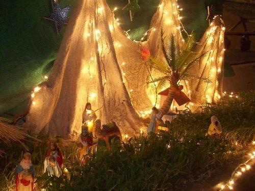 Christmas Event Crib Service Provider From Mumbai