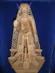 Brown Rajasthani Wooden Doll, For Restaurants