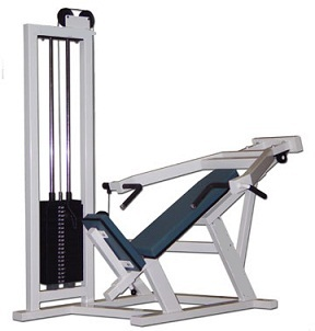incline chest press gym exercise machine at rs 32500 piece