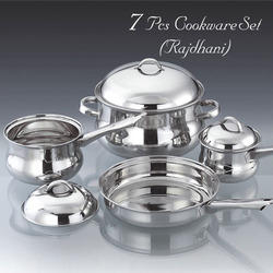 7 PCS Rajdhani Cookware Set