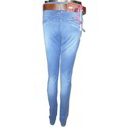 Blue Faded Narrow Jeans