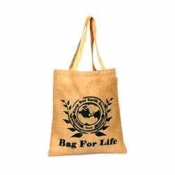 Jute Tote Printed Bag