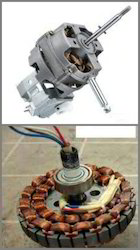 Single Phase Fan Motor, Voltage: >200 V