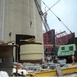 Erection of Fluecan Power Plant