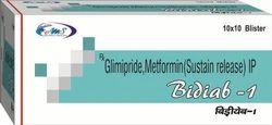 Glimipride, Metformin (Sustain Release) IP