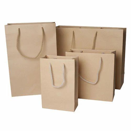 1f28cd6441 Kraft Paper Bags - Brown Kraft Paper Bags Manufacturer from Rajkot