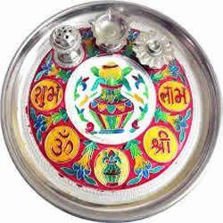 Meena Puja Thali