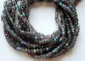 Labradorite Faceted Rondelle Beads Strands