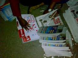 Pamplet Distribution In Newspaper