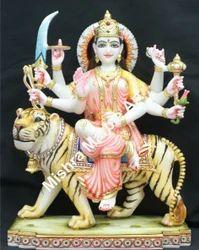 Vaishno Devi Ji Statue Marble Vaishnav Devi Durga Mata