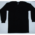 Full Sleeves Cotton Black Thermal Inner Wear, Size: S-xl