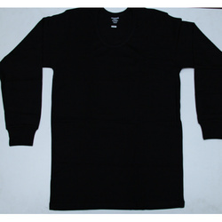 Cotton Black Thermal Inner Wear