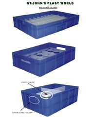 Plastic Crates Partition
