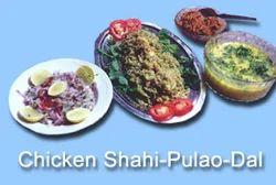 Chicken Shahi Pulao Dal