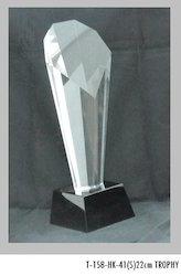 22 cm Crystal Trophies