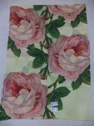 PE Rose Digital Printed Fine Woolen Stoles
