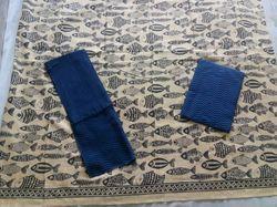 Bluish Khadi Suit