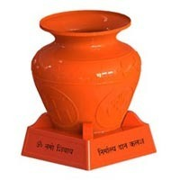 Polyethylene Nirmaly Kalash, For Temple