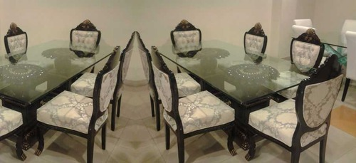 dining table set glass top dining table set trader from hyderabad