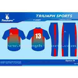 Colour Cricket Team Uniforms
